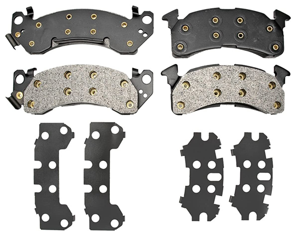 Raybestos PGD153M Professional Grade Semi-Metallic Disc Brake Pad Set