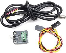 Kineca DS18B20 Paquete de Acero Inoxidable 1 Metros Impermeable DS18B20 Sensor de la sonda de Temperatura 18B20