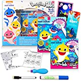 Baby Shark Imagine Ink 4 in 1 Activity Bundle - Baby Shark Magic Ink Mess Free Coloring Set with Finding Dory Stickers (Baby Shark Party Supplies)