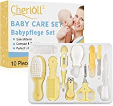Baby Grooming Kit, Baby Health Care Kit, Nursery Care Kit, Babypflege Set, 10PCS Baby Health Care Set Portable Baby Care Kit, Safety Cutter Baby Nail Kit for Nursing Baby Heath and Grooming