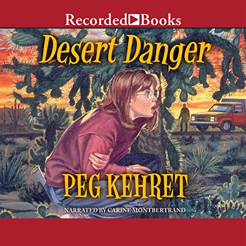 Desert Danger audiobook cover art
