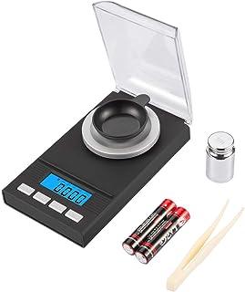 HJTLK Báscula de baño Digital, báscula de Bolsillo 50/0.001g Báscula Digital Báscula Fina Báscula Dorada Calibración Peso Báscula Fina Báscula para joyería