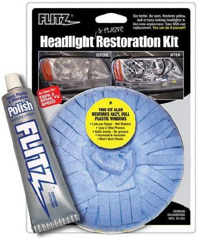 Flitz HR 31501 Headlight Restoration Small Kit Max 47% 2021 spring and summer new OFF
