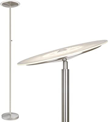 Dawson Modern Pharmacy Floor Lamp Antique Brass Adjustable Boom Arm And Head For Living Room