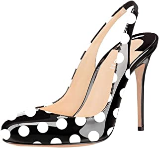 Best yellow polka dot high heels Reviews