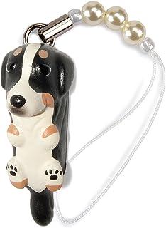 ペットラバーズ 犬種 Dog 92 Barnese バーニーズマウンテンドッグ トライカラー ビーズ ストラップ DN-2701