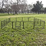 16 Panel Heavy Duty Cage Pet Dog Cat Barrier Fence Exercise Metal Playpen Kennel by ShinShop