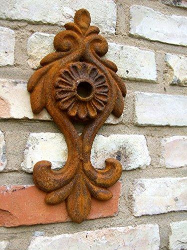 Antikas - Maueranker Eisenanker Dekoration für Fachwerk Gartenmauer Lorelei Pfettenanker