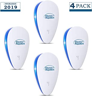 YOOKOON Ultrasonic Pest Repeller, Electronic Pest Repellent Plug in Indoor, Pest Reject, Pest Defender for Mosquito Spider Ant Mice Roach and Other Insects(4Packs)
