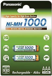 Panasonic Micro-Batería HHR-55AAAB AAA 1000mAh