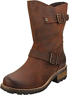 Oak & Hyde Crest Demi Womens Biker Boots