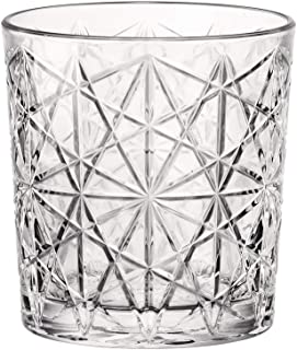 Bormioli Rocco 666224 Lounge Whiskyglas, 390ml, Glas, transparent, 6 Stück