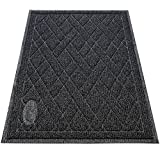 Pawkin Cat Litter Mat, Patented Design with Litter Camouflage, Extra Large, Durable, Easy to Clean, Soft, Fits...