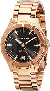 Rip Curl Women's Delta Dvr Sss Watch Stainless Steel Waterproof Gold