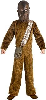 Fantasy Ruz Disfraz Chewbacca C/Mascara Star Wars Lujo Niño