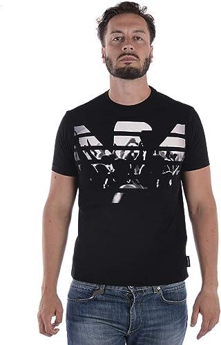 Emporio Arhommei - T-Shirt - Homme noir + Stampa