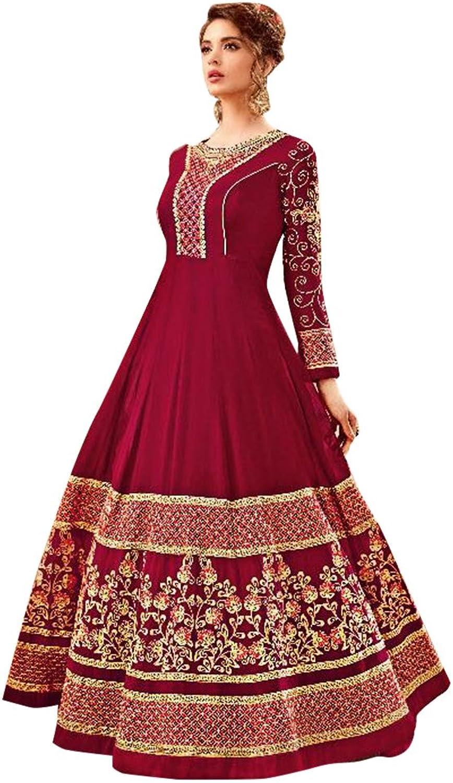 Bollywood Anarkali Dresses for women Salwar Kameez Ceremony Wedding 908