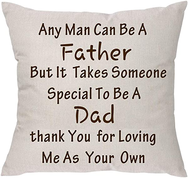 Any Man Can Be A Father But It Takes Someone Special To Be A Dad Father S Day Linen Throw Pillow Case Cushion Cover Pillow Covers For Sofa Home Decor