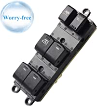 Fits 25401-ZJ60A Front Left Power Window Master Switch Replacement for 2008-2012 Nissan Sentra