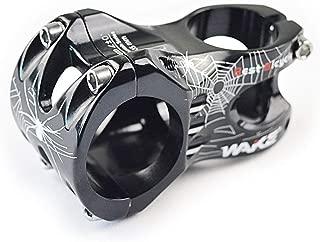 Wake 31.8 Stem 45mm Bike Stem Mountain Bike Stem Short Handlebar Stem for Most Bicycle, Road Bike, MTB, BMX, Fixie Gear, Cycling (Aluminum Alloy, Black)