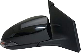 Zebra TY1321295 for 14-18 Corolla L/LE/LE Eco/SE/XLE/XSE/S OE Style Replacement Power Heated Signal Lamp Paint to Match Passenger Side Mirror