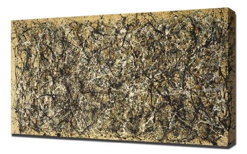 Lilarama Jackson Pollock - One Number 31 1950 - Art Leinwandbild - Kunstdrucke - Gemälde Wandbilder