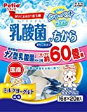 ペティオ 乳酸菌のちから ゼリータイプ リッチミルクヨーグルト風味 320g(16gx20個)
