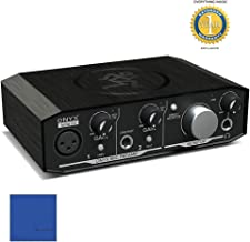 Mackie Onyx Artist 1-2 2-in-2-out USB 2.0 Audio Interface with 1 Year EverythingMusic Extended Warranty Free