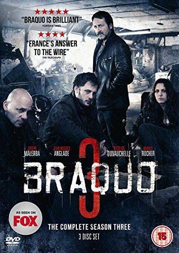Braquo Season 3 (2 Dvd) [Edizione: Regno Unito] [Edizione: Regno Unito]