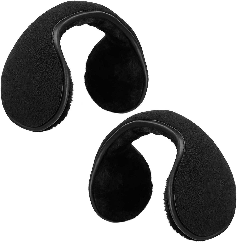 KRATARC Earmuffs Ear Warmer Unisex Men Women Fleece Ear Cover Winter Accessory Outdoor