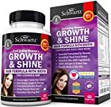 Best Hair Growing Products - Biotin Hair Growth Supplement with Folic Acid Review