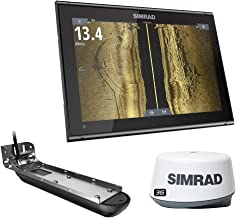 $3599 » Simrad 12-inch Chartplotter and Radar Display. Comes with Broadband 3G Radar and Active Imaging 3-in-1 Transducer