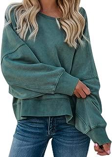 34-48 ZANZEA Damen Hoodies Sweatshirt Beiläufige Lose Oberseiten Pullover Jumper