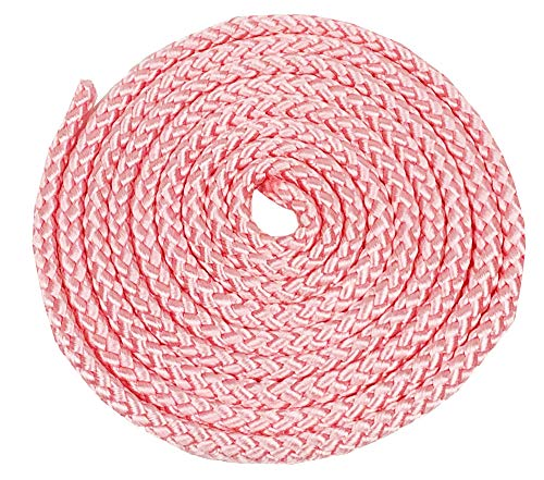 Amaya - Cuerda de entrenamiento (3 m, 84 g), Rosa.