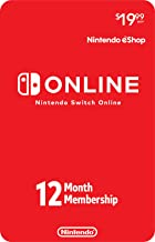 Nintendo Switch Online 12-Month Individual Membership [Digital Code]