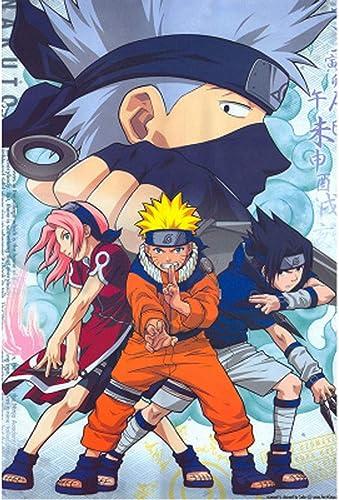 WYF Holzpuzzle für 1-J ige, Naruto Japanese Anime Cartoon Puzzles 500,1000,1500Stück P604 (Farbe   C, Größe   1500pc)