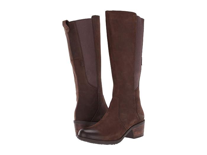 Teva  Anaya Tall WP (Chocolate Brown) Womens Shoes