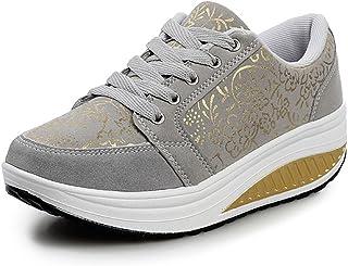 WYSBAOSHU Mujer Zapatos de Deporte Casual Correr Sneaker