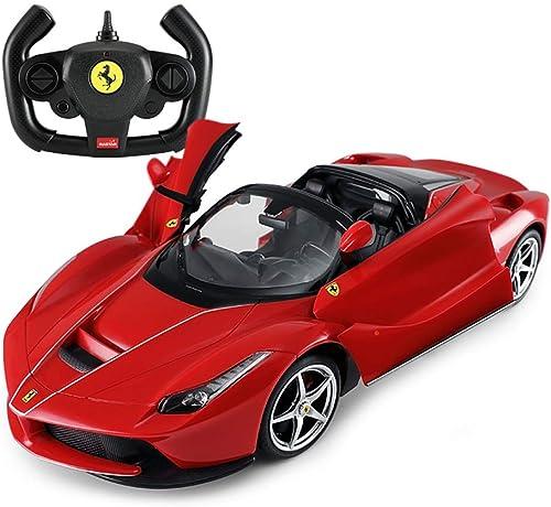 PETRLOY 1 14 rot Femini Modellauto 2,4 GHz RC aufladbare Fernbedienung Autobahnrennen Junge mädchen Geschenk Spielzeug Fernbedienung RTR Racer Supercar mit Lithium-Batterie gesteuert