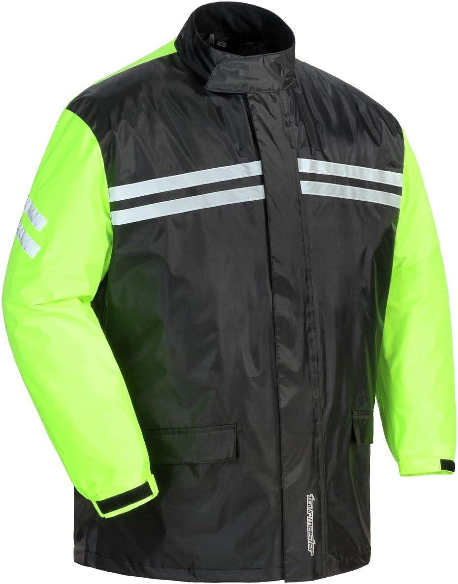 Tourmaster PVC 2 Piece Rainsuit Black