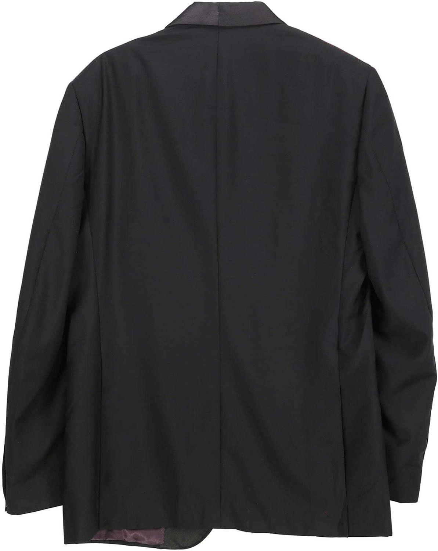 Trussini Men's Wool Solid Suit Dress