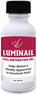 Luminail Nail Restoration Gel, Nail Softener, Nail Whitener, Topical Solution, for Fingernails and Toenails, Helps Nail Th...