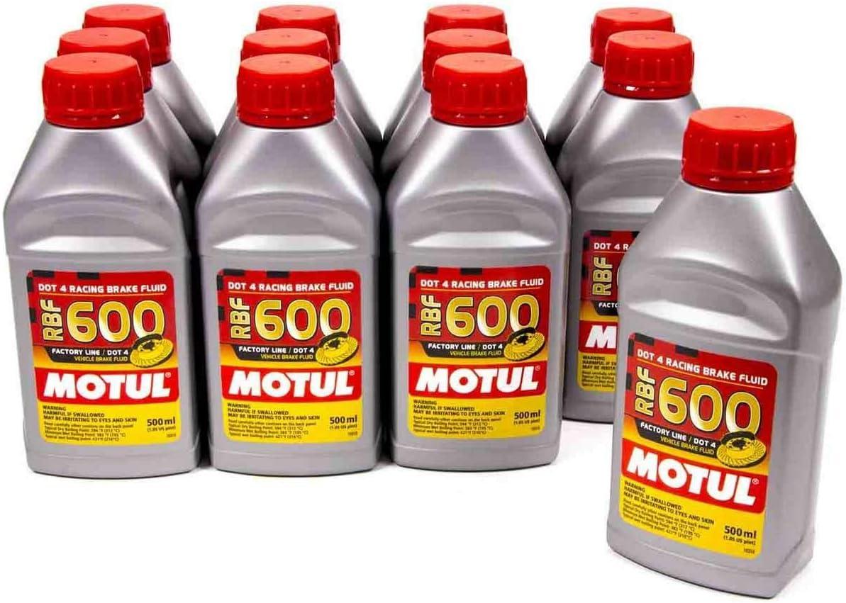 Motul Trust Mail order 8068HL-12PK RBF 600 Factory Dot-4 Percent Line 100 Synthet