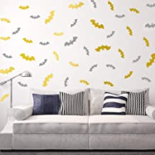 Kids Muurvleermuis Decoratieve Schilderij PVC Muursticker Woonkamer tv Zand Bruin