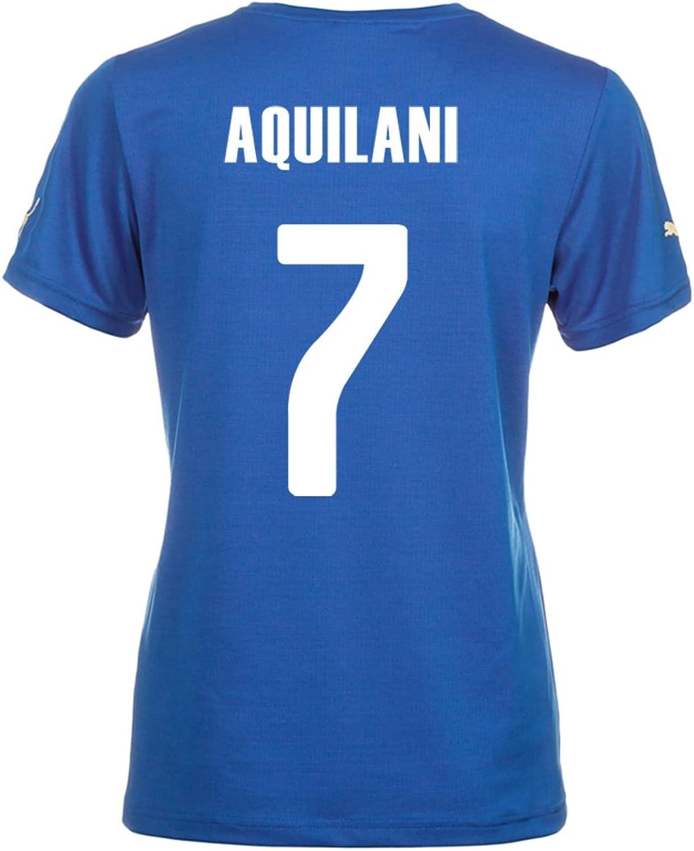 Puma Aquilani  7  Home Jersey World Cup 2014 Women's