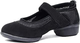 Women's Breathable Mesh Jazz Dance Shoes Lady Latin Tango Ballroom Sports Dance Sneakers