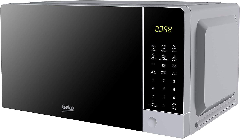 Beko Horno Microondas Moc201103S 20L Digital Silver