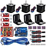 Longruner Nema 17 Stepper Motor Professional 3D Printer CNC Kit with ArduinoIDE A4988 Endstop GRBL...