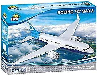 Cobi COB26175 Boeing - 1:100 737 Max 8 (320 Pcs) Toy, Various