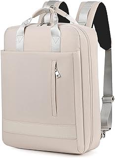 WPJMEFU Rucksack Damen, Stylischer Schultasche Mit 15,6 Zoll Laptopfach, Schulrucksack Frauen Mädchen Teenager mit USB-Lad...